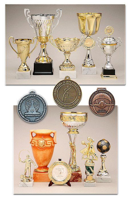 Sportovní trofeje a poháry