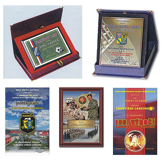 Pamětní mince, plakety a medaile